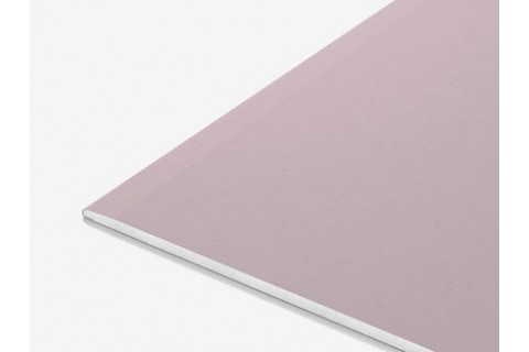 Гипсокартон огнестойкий стеновой 2500х1200х12,5 мм (ГСП-DF). Цена за 1м²