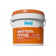 Грунтовка универсальная для впитывающих оснований КНАУФ-МИТТЕЛЬГРУНД, 10 кг.