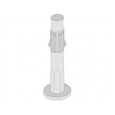 Дюбель -анкер потолочный 6х35 (100 шт/упак)