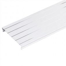 Комплект потолка для ванной комнаты, белый жемчуг с металлической полосой (1,7х1,7)