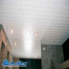Комплект потолка для ванной комнаты, белый жемчуг (1,7х1,7)