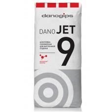 Сухая полимерная шпатлевка DANO JET 9 (20 кг.)