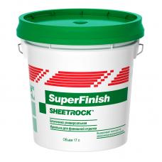 Финишная полимерная шпатлевка SHEETROCK SuperFinish 3 л.